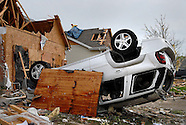 Aftermath of April 22, 2011 Bridgeton tornado