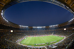 JOHANNESBURG, SOUTH AFRICA - Friday, June 11, 2010: A general view as South Africa take on Mexico during the opening match of the 2010 FIFA World Cup South Africa at the Soccer City Stadium. (Pic by Vid Ponikvar/Expa/Propaganda)