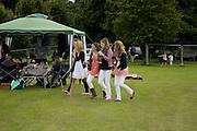 ALICE TAYLOR; EMILY BARKER; ELEANOR WOODFIELD; NATASHA WATERFIELD; SOPHIE COMYN. Hackett Rundle Cup 2008. Tidworth. 12 july 2008 *** Local Caption *** -DO NOT ARCHIVE-© Copyright Photograph by Dafydd Jones. 248 Clapham Rd. London SW9 0PZ. Tel 0207 820 0771. www.dafjones.com.