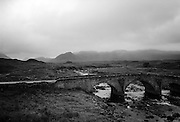 Stone bridge, Sligachan, Isle of Skye, Scotland 1995