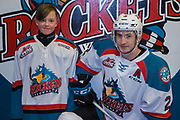 KELOWNA, CANADA - MARCH 03:  Pepsi Player of the Game with James Hilsendager #2 of the Kelowna Rockets at the Kelowna Rockets game on March 03, 2018 at Prospera Place in Kelowna, British Columbia, Canada.  (Photo By Cindy Rogers/Nyasa Photography,  *** Local Caption ***