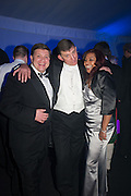 MATTHEW COOK; PETER COLLIN; HIRANTHI COOK, Quorn Hunt Ball, Stanford Hall. Standford on Soar. 25 January 2014