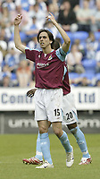 Photo: Aidan Ellis.<br /> Wigan Athletic v West Ham United. The Barclays Premiership. 28/04/2007.<br /> west Ham's Yossi Benayouan celebrates his goal and team's second
