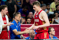 Andrey Vorontsevich of Russia during basketball match between National Teams of Croatia and Russia at Day 11 in Round of 16 of the FIBA EuroBasket 2017 at Sinan Erdem Dome in Istanbul, Turkey on September 10, 2017. Photo by Vid Ponikvar / Sportida