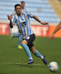 MARK BEEVERS MILLWALL, RUBENS LAMEIRAS COVENTRY CITY, Coventry City v Millwall Sky Bet League One, Ricoh Arena, Saturday 16th April 2016<br /> Score 2-1