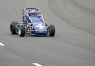 05 MAY 2007: Bobby East (4) of Klatt Enterprises practices in his midget car before the Casey's General Stores USAC Triple Crown at the Iowa Speedway in Newton, Iowa on May 5, 2007.