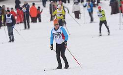 06-03-2016 SWE: Vasaloppet Challenge BvdGF day 7, Sälen<br /> Vandaag een rustig dagje, 90 km langlaufen van Sälen naar Mora in bizarre omstandigheden / De start een kleine 16.000 man met helemaal achterin BvdGF met Casper
