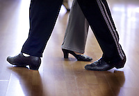 (CH) FL-el-argentinean-tango-CHj --Members of The Tango Times Dance Company are dancing during the practice of The Argentine Folk and Tango Show, at their studio in North Miami Beach on June 30, 2012. Saff photo/Cristobal Herrera Sun-Sentinel