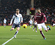 Dundee&rsquo;s Rory Loy and Hearts&rsquo; Igor Rossi - Hearts v Dundee - SPFL Premiership at Tynecastle<br /> <br />  - &copy; David Young - www.davidyoungphoto.co.uk - email: davidyoungphoto@gmail.com