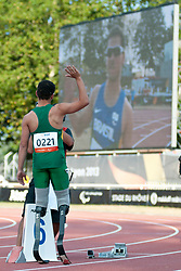 OLIVEIRA Alan Fonteles, BRA, 400m, T44, 2013 IPC Athletics World Championships, Lyon, France