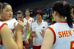 China head coach Lang Ping