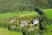 Nederland, Gelderland, Gemeente Renkum, 30-09-2015; Kasteel Doorwerth  waterburcht in de uiterwaarden van de Nederrijn.<br /> Doorwerth castle near Arnhem.<br /> <br /> luchtfoto (toeslag op standard tarieven);<br /> aerial photo (additional fee required);<br /> copyright foto/photo Siebe Swart