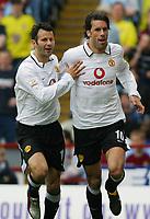 Foto: SBI/Digitalsport<br /> NORWAY ONLY<br /> <br /> Fotball<br /> Premier League England<br /> Aston Villa V Manchester United<br /> 15.05.2004<br /> <br /> RUUD VAN NISTELROOY CELEBRATES GOAL