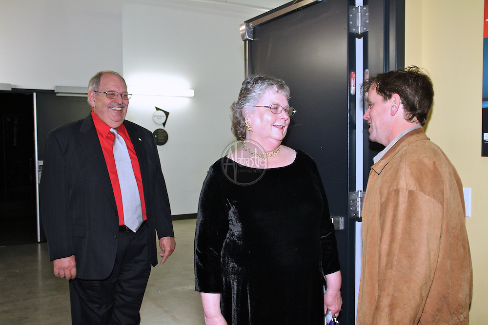 Allen Family backstage, Madama Butterfly, May 12, 2012.