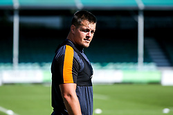 Nick Schonert of Worcester Warriors in action, as the team return to training in small socially distant groups after the Coronavirus lockdown restrictions were eased - Mandatory by-line: Robbie Stephenson/JMP - 23/06/2020 - RUGBY - Sixways Stadium - Worcester, England - Worcester Warriors Training