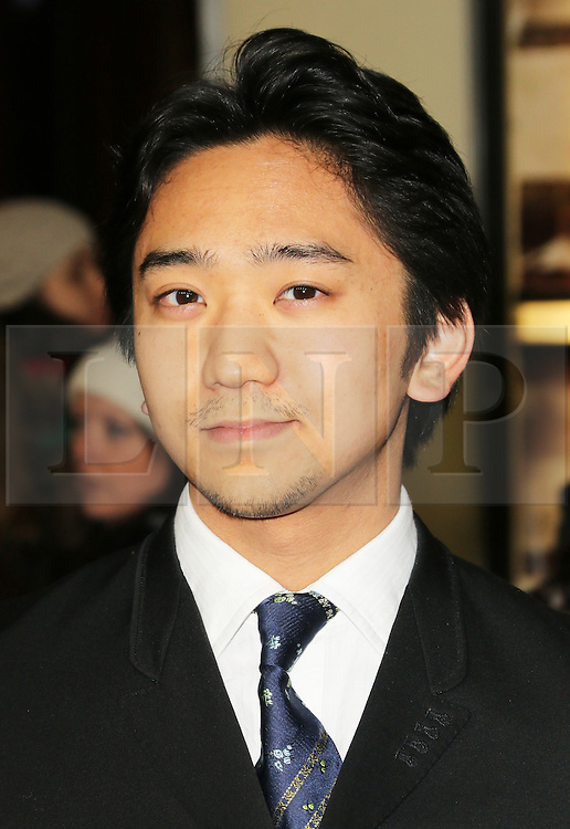 © Licensed to London News Pictures. 04/12/2013, UK. Tanroh Ishida,, The Railway Man - UK Film Premiere, Odeon West End, Leicester Square, London UK, 04 December 2013. Photo credit : Richard Goldschmidt/Piqtured/LNP