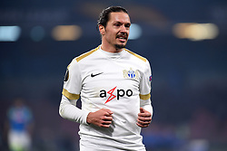 February 21, 2019 - Naples, Naples, Italy - Adrian Winter of FC Zurich during the UEFA Europa League Round of 32 Second Leg match between SSC Napoli and FC Zurich at Stadio San Paolo Naples Italy on 21 February 2019. (Credit Image: © Franco Romano/NurPhoto via ZUMA Press)