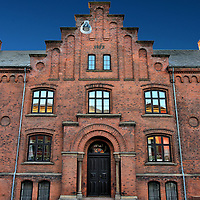 """Grey Friars Monastery in Odense, Denmark <br /> An order of Franciscan monks built a monastery in Odense around 1279 on land given to them by King Erik Kippinge.  Over the next several centuries, the number of buildings increased to include a hospital and church. This """"New Monastery"""" building opened in 1872.  Today, the Greyfriars Abby provides housing for seniors."""