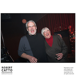 Dave Gibson;Marion Hobbs at the Film Wellington 10th Anniversary Celebration at the Front Room, Wellington, New Zealand.<br />