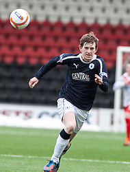 Falkirk's Blair Alston..Airdrie United 0 v 1 Falkirk, 30/3/2013..©Michael Schofield..