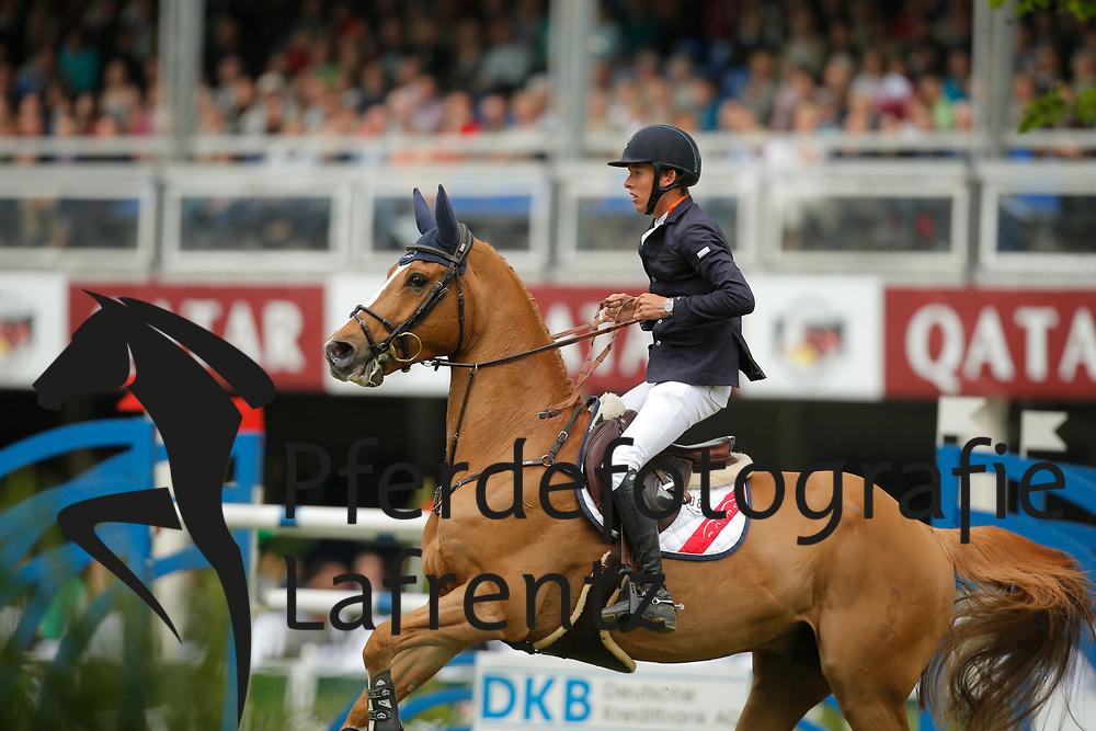 Allen, Bertram, Quiet Easy<br /> Wiesbaden - Pfingstturnier 2015<br /> Grosser Preis von Wiesbaden Riders Tour Etappe<br /> © www.sportfotos-lafrentz.de/Stefan Lafrentz