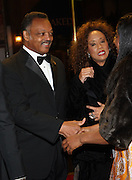 l to r: Jesse Jackson and his wife, Jacqueline Lavinia Brown at The Alvin Ailey Opening Night Gala and Celebration of the 20th Anniversary of Judith Jamison as Artistic Director held at The New York City Center on Decemeber 2, 2009 in New York City