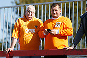 Blackpool fans during the EFL Sky Bet League 1 match between Accrington Stanley and Blackpool at the Fraser Eagle Stadium, Accrington, England on 21 September 2019.