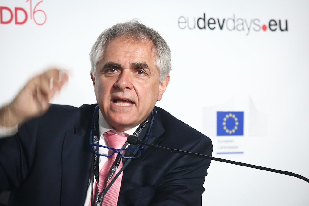 20160615 - Brussels , Belgium - 2016 June 15th - European Development Days - Developments in agricultural trade and the Sustainable Development Goals in African, Caribbean and Pacific countries - Roberto Ridolfi - Director for Sustainable Growth and Development European Commission, DG for International Cooperation and Development © European Union