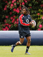 Picture by Andrew Tobin/Tobinators Ltd +44 7710 761829.24/05/2013.Marlande Yarde of England during the England training session at Pennyhill Park, Bagshot ahead of the match against the Barbarians on 26th May 2013.