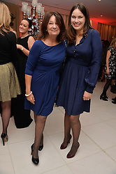 Left to right, CINDY BLACK and her daughter LADY FREDERICK WINDSOR at a pre party for the English National Ballet's Christmas performance of The Nutcracker was held at the St.Martin's Lane Hotel, St.Martin's Lane, London on 12th December 2013.