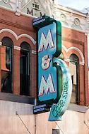 Butte, Montana, M & M Cigar Store, Main Street, uptown, established 1890