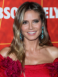 BEVERLY HILLS, LOS ANGELES, CA, USA - OCTOBER 18: amfAR Gala Los Angeles 2018 held at the Wallis Annenberg Center for the Performing Arts on October 18, 2018 in Beverly Hills, Los Angeles, California, United States. 18 Oct 2018 Pictured: Heidi Klum. Photo credit: Xavier Collin/Image Press Agency/MEGA TheMegaAgency.com +1 888 505 6342