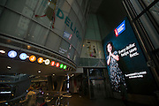 Fulton Center, where the American Cancer Society hosted a free, public, live event in celebration of Giving Tuesday on Tuesday, Dec. 1, 2015 in New York. (Ben Hider/AP Images for American Cancer Society)