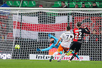 Goal Anthony MOUNIER - 06.12.2014 - Rennes / Montpellier - 17eme journee de Ligue 1 -<br />