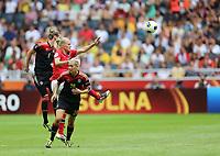 Fotball , EM , Norge - Tyskland 28.juli 2013 , kvinner ,  Sverige , Stockholm , Solna , europamesterskap, finale<br /> Solveig Gulbrandsen<br /> Foto: Ole Marius Fjalsett