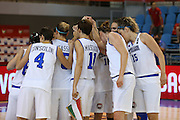 ORADEA 11 GIUGNO 2015<br /> EUROBASKET FEMMINILE 2015<br /> ITALIA-BIELORUSSIA<br /> NELLA FOTO Team Italia<br /> FOTO CIAMILLO
