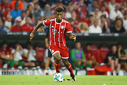 August 1, 2017 - Munich, Germany - Kingsley Coman of Bayern during the second Audi Cup football match between FC Bayern Munich and FC Liverpool in the stadium in Munich, southern Germany, on August 1, 2017. (Credit Image: © Matteo Ciambelli/NurPhoto via ZUMA Press)