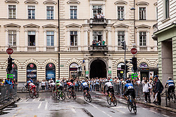 Riders during Stage 2 of 24th Tour of Slovenia 2017 / Tour de Slovenie from Ljubljana to Ljubljana (169,9 km) cycling race on June 16, 2017 in Slovenia. Photo by Vid Ponikvar / Sportida