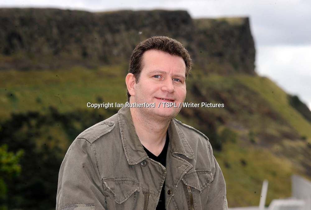Ferg Handley, &lsquo;Commando&rsquo; comic book designer, in Edinburgh, Scotland, September 15, 2010.<br /> <br /> Copyright Ian Georgeson  / TSPL / Writer Pictures<br /> Contact +44 (0)20 822 41564<br /> info@writerpictures.com<br /> www.writerpictures.com