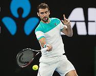 MARIN CILIC (CRO)<br /> <br /> Tennis - Australian Open 2018 - Grand Slam / ATP / WTA -  Melbourne  Park - Melbourne - Victoria - Australia  - 28 January 2018.