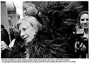 Mariane Faithful at a Marc Jacobs fashion show. Plaza Hotel. New York. 1995. Film 95162f21<br />© Copyright Photograph by Dafydd Jones 66 Stockwell Park Rd. London SW9 0DA Tel 0171 733 0108