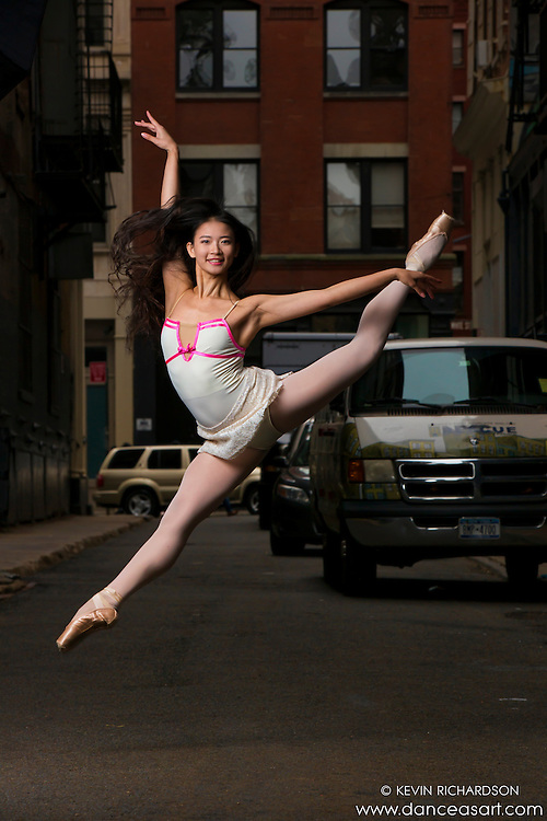 Cortlandt Alley New York City Ballerina- Dance As Art The New York Photography Project