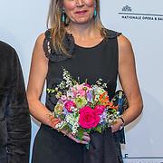 "NLD/Amsterdam/20180418 - Koning en Koningin bij premiere ""Gurre-Lieder"", Koning Willem Alexander en koningin Maxima en ....."