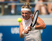 Victoria Azarenka of Belarus in action during her second-round match at the 2018 US Open Grand Slam tennis tournament, at Billie Jean King National Tennis Center in Flushing Meadow, New York, USA, August 29th 2018, Photo Rob Prange / SpainProSportsImages / DPPI / ProSportsImages / DPPI
