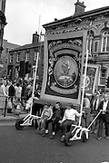 Silverwood banner, 1983 Yorkshire Miner's Gala. Barnsley