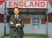 Football - 2016 / 2017 season - new England manager Gareth Southgate, first press conference<br /> <br /> England manager Gareth Southgate on the Wembley pitch<br /> <br /> COLORSPORT/ANDREW COWIE