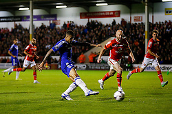 Kenedy of Chelsea scores a goal to make it 1-3 - Mandatory byline: Rogan Thomson/JMP - 07966 386802 - 23/09/2015 - FOOTBALL - Bescot Stadium - Walsall, England - Walsall v Chelsea - Capital One Cup.