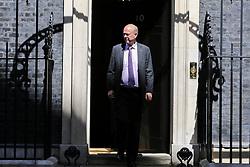 © Licensed to London News Pictures. 14/05/2019. London, UK. Chris Grayling - Secretary of State for Transport departs from No 10 Downing Street after attending the weekly Cabinet meeting. Photo credit: Dinendra Haria/LNP