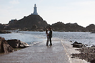 Jacqueline and Brian pre wedding shoot Corbiere, Jersey
