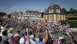 July 14, 2018 - Sarzeau, FRANCE - Illustration picture taken during the fourth stage of the 105th edition of the Tour de France cycling race, from La Baule to Sarzeau (195km), in France, Tuesday 10 July 2018. This year's Tour de France takes place from July 7th to July 29th. BELGA PHOTO YUZURU SUNADA - FRANCE OUT (Credit Image: © Yuzuru Sunada/Belga via ZUMA Press)